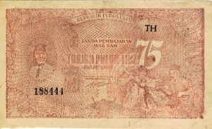 Secret codes of the Indonesian Revolution Money – ORI