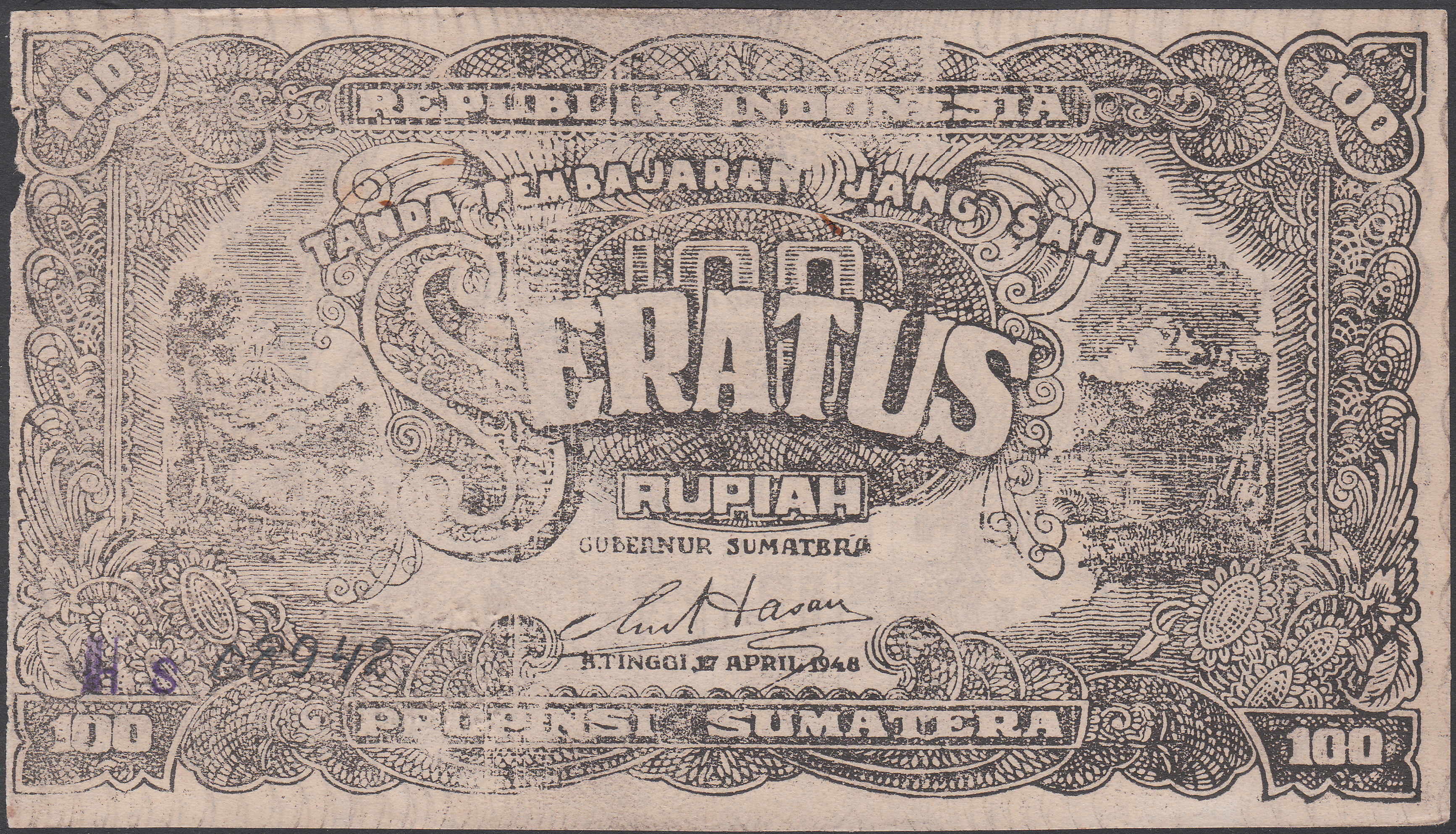 Secrets of Bukittinggi's paper money serial numbers