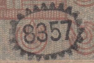 Security codes of De Javasche Bank notes 1864 – 1931